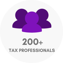 200+ tax professionals