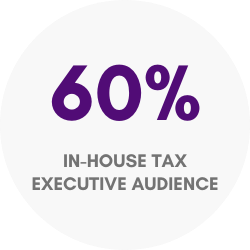 tax executive audience